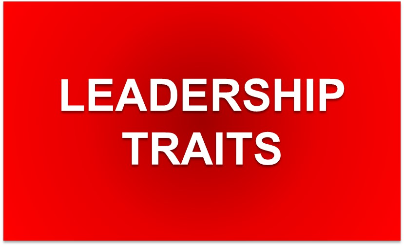 Seeking the TRAITS of Most Admired Leaders